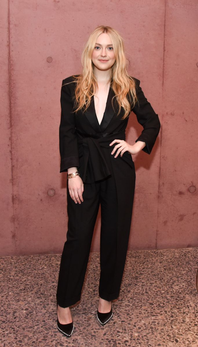 Dakota Fanning The Webster opening party Los Angeles
