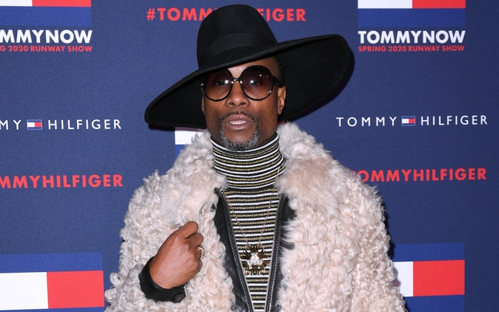 Billy Porter, lfw, front row, celebrity style