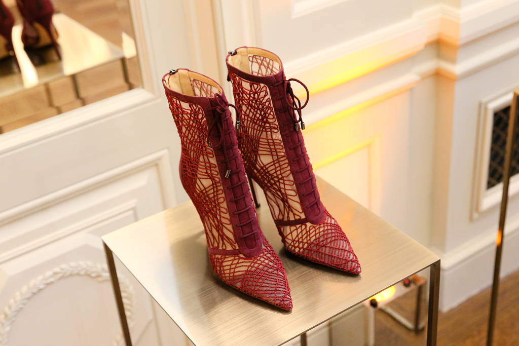 Alexandre Birman, lace up boots, red boots, fall 2020, pfw