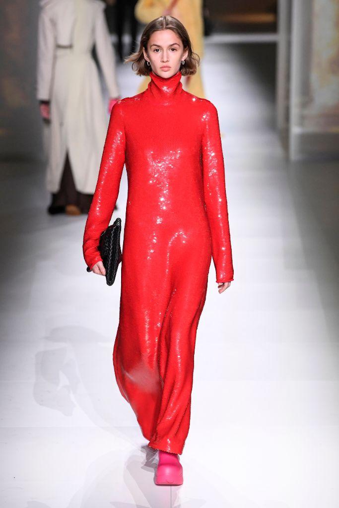 bottega veneta, fall 2020, milan fashion week, shoes, clown shoes