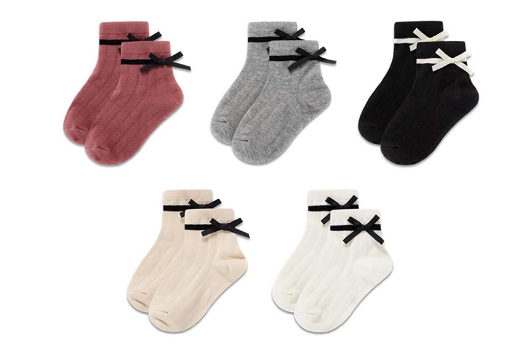 Gwenvenni bow socks