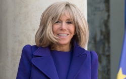 Brigitte Macron, first lady of france,