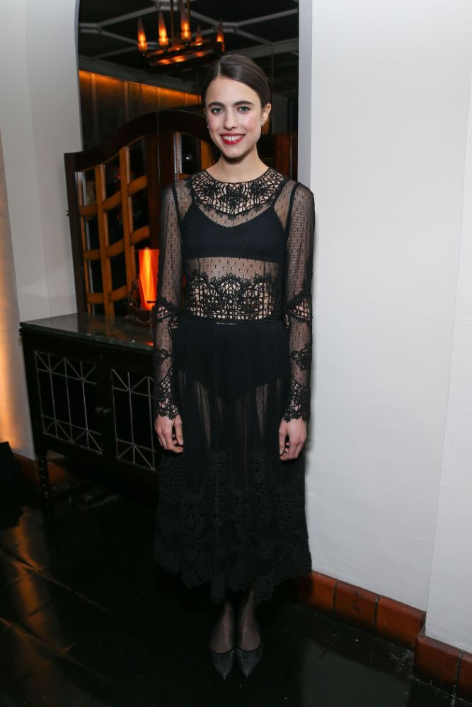 Margaret Qualley, cadillac, oscars, party, oscars week, los angeles, celebrities, arrivals