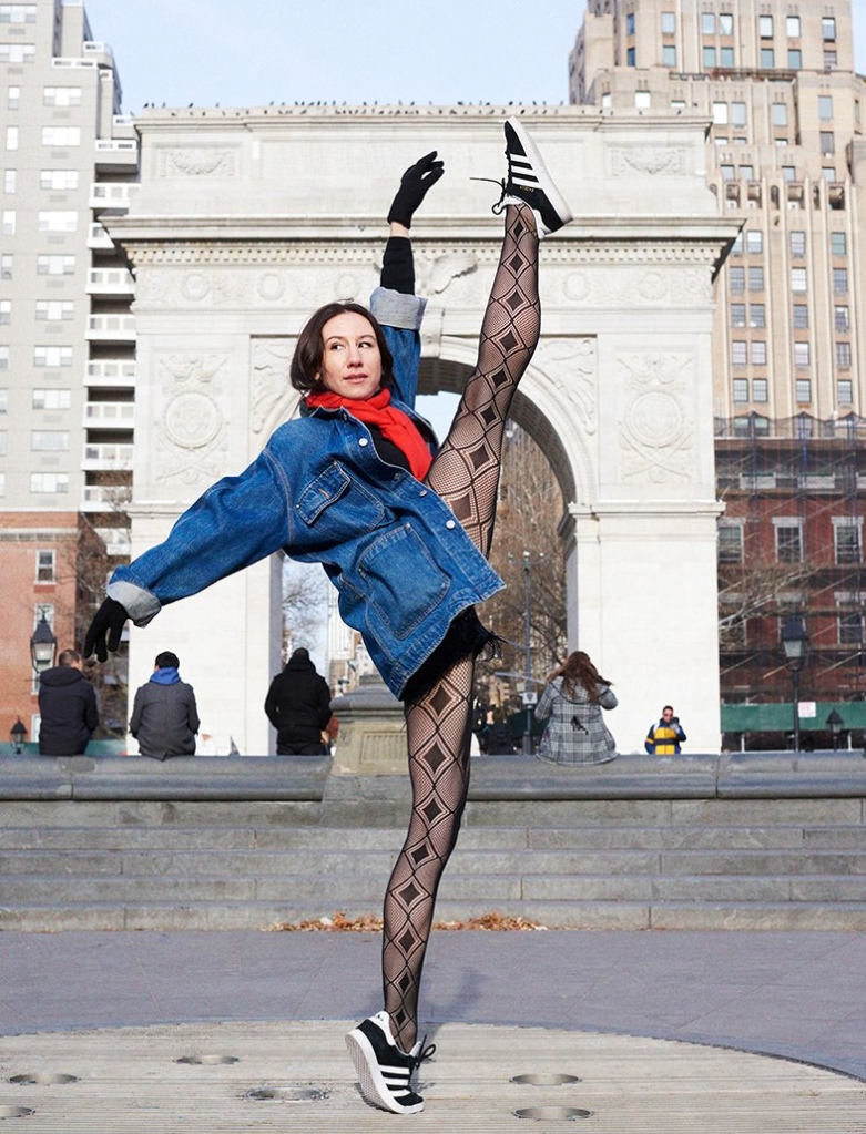 calzedonia, isabella boylston, spring 2020, tights, balllerina, dancer, new york