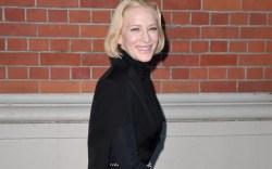 Cate Blanchett, burberry fall 2020, london