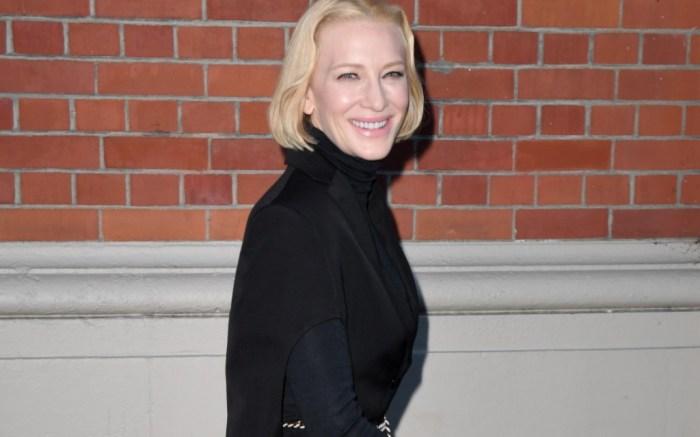 Cate Blanchett, burberry fall 2020, london fashion week