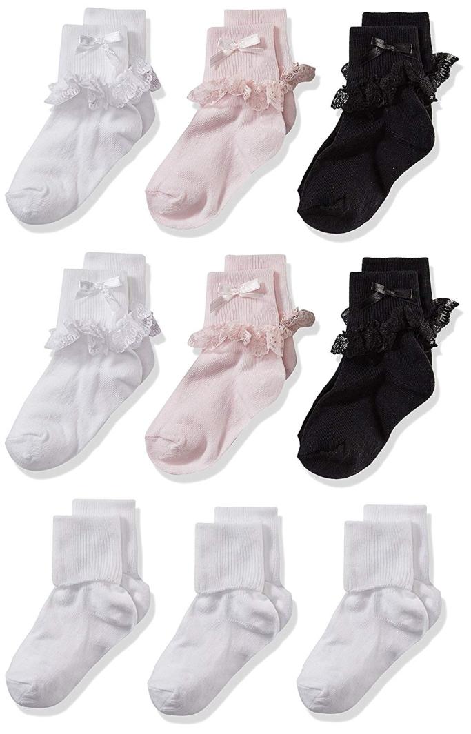 Cherokee Turn Cuff Socks
