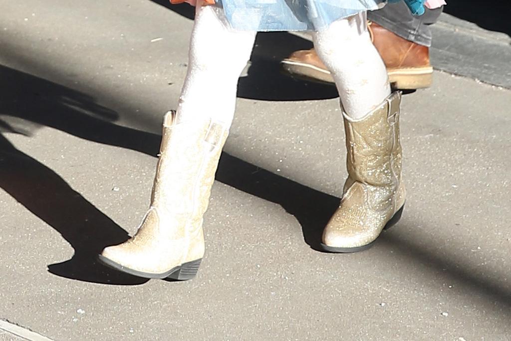 chrissy teigen, shoes, new york, pvc, heels, nyc, luna, daughter, john legend