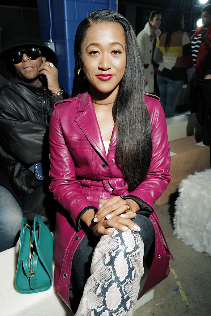 Naomi Osaka in the front rowCoach show, Front Row, Fall Winter 2020, New York Fashion Week, USA - 11 Feb 2020