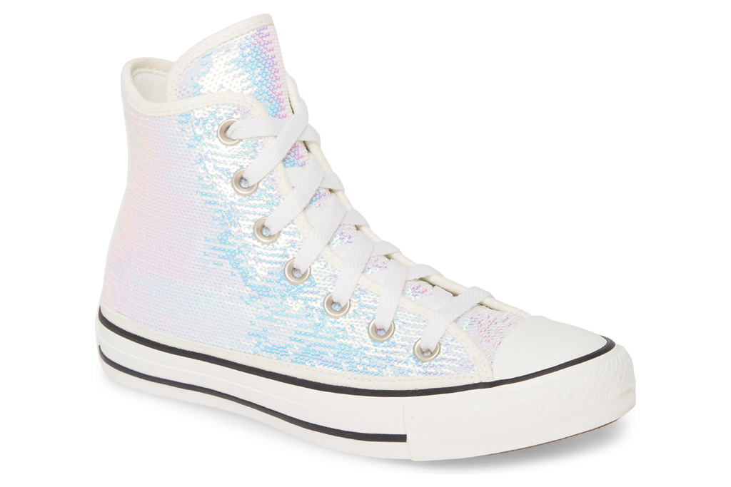 converse sequin sneakers