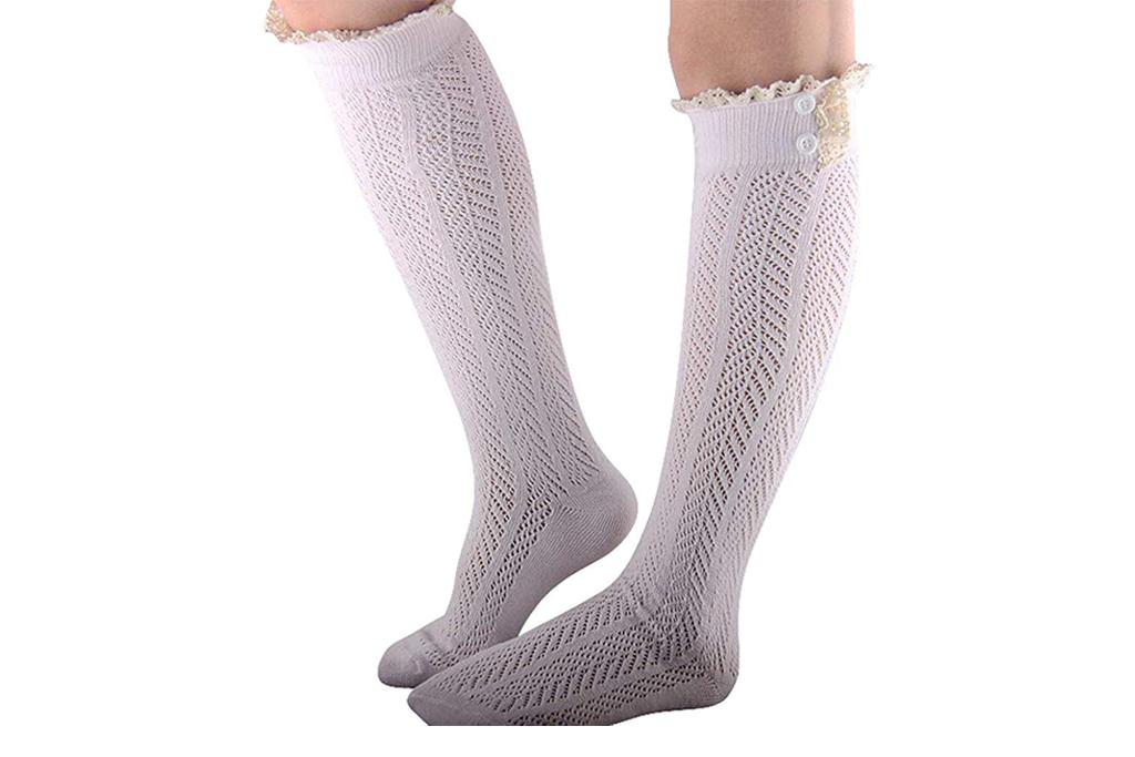 desen ruffle socks