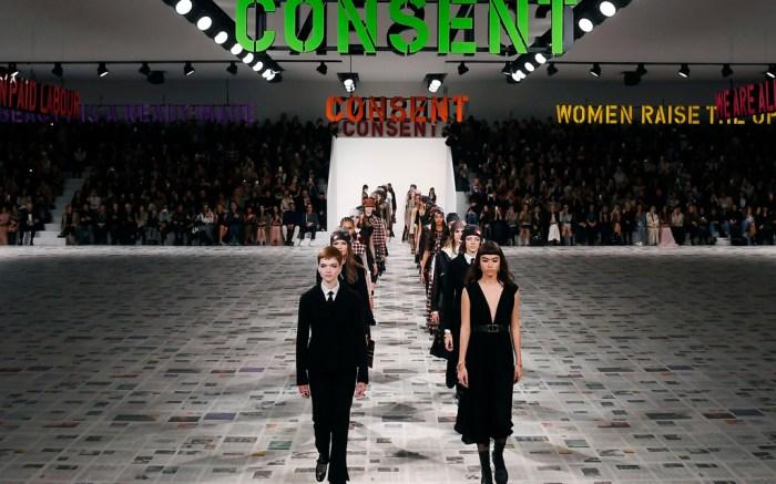 models, dior, fall 20, fw20, pfw, paris fashion week
