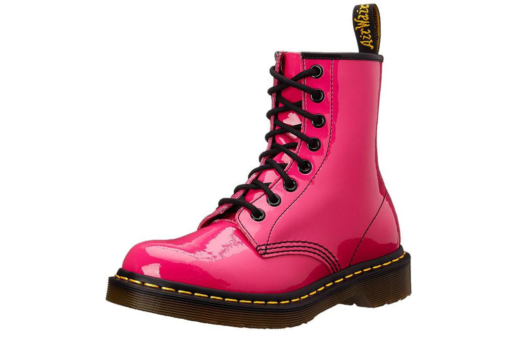 doc martens hot pink boots