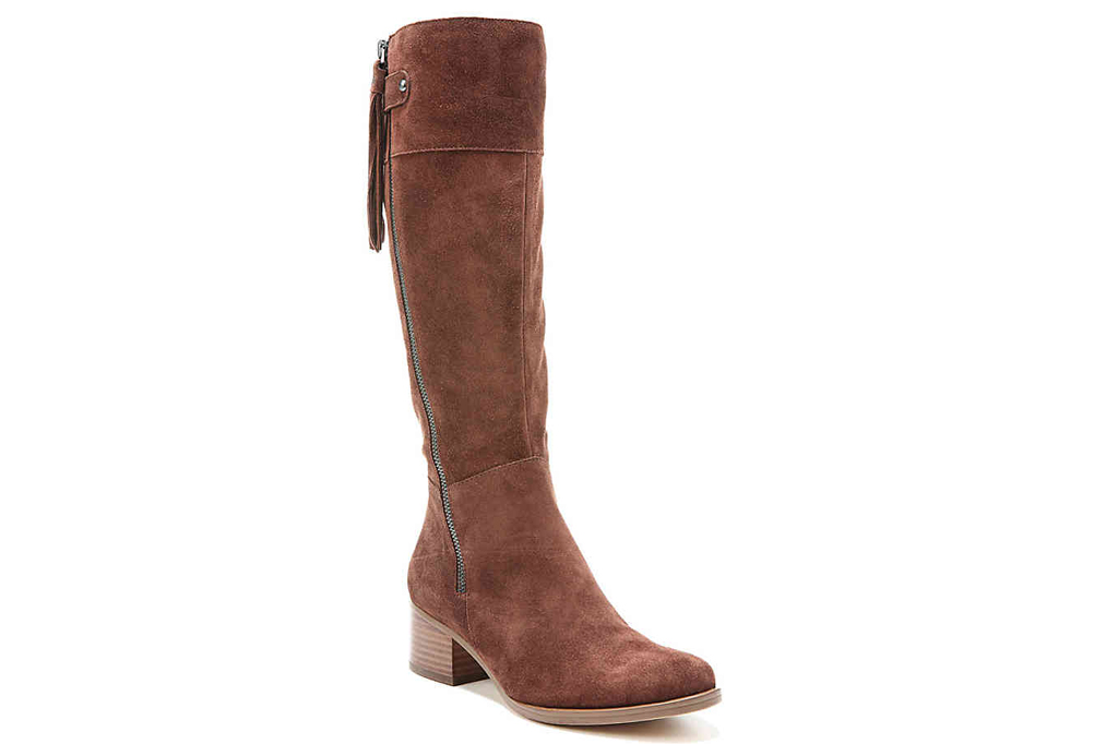 DSW, Naturalizer, wide calf boots