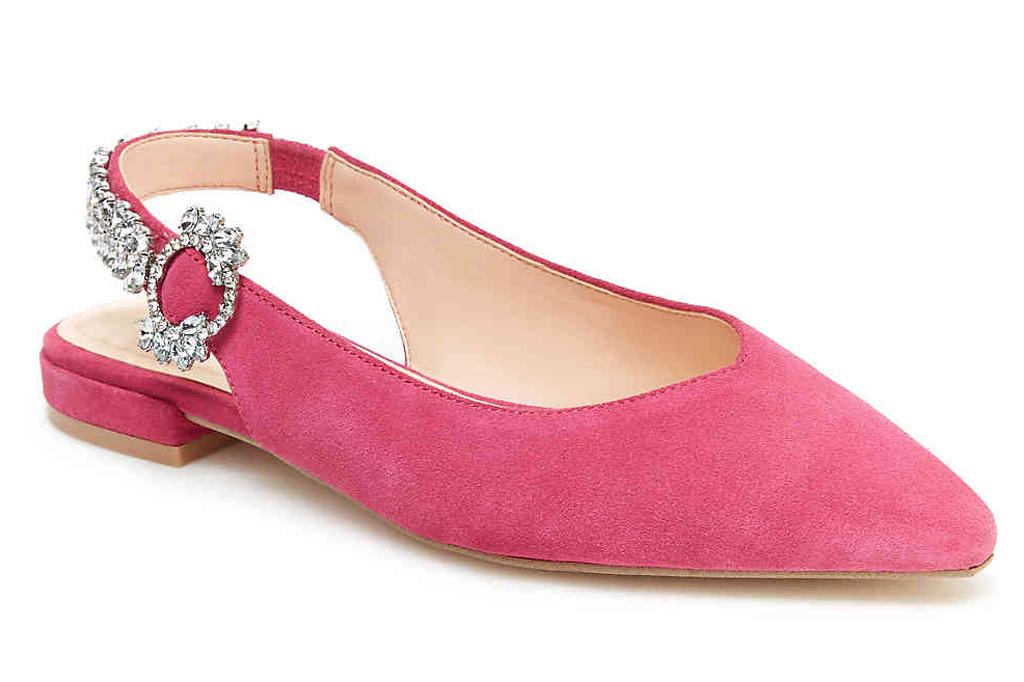 DSW , pink flats