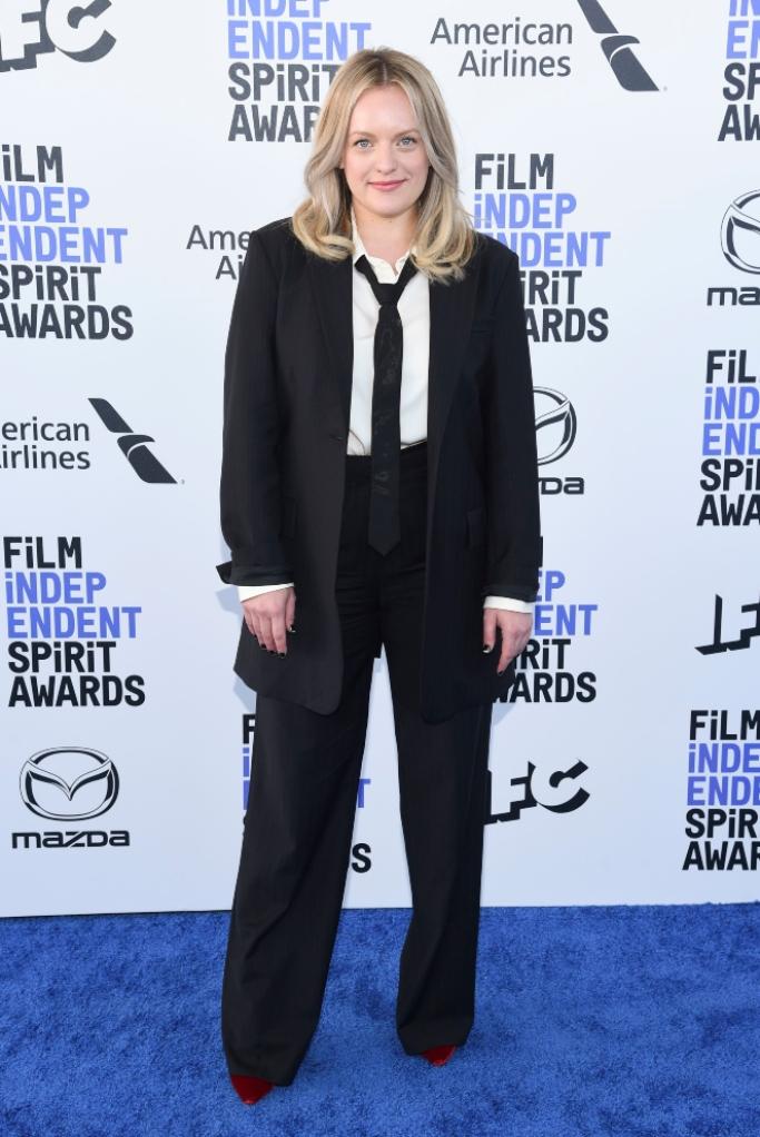 Elisabeth Moss, jimmy choo shoes, independent spirit awards