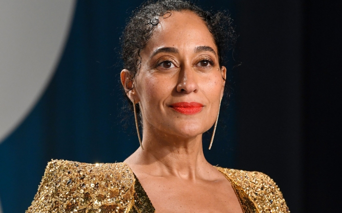 tracee ellis ross, gold dress, vanity fair, oscars, 2020