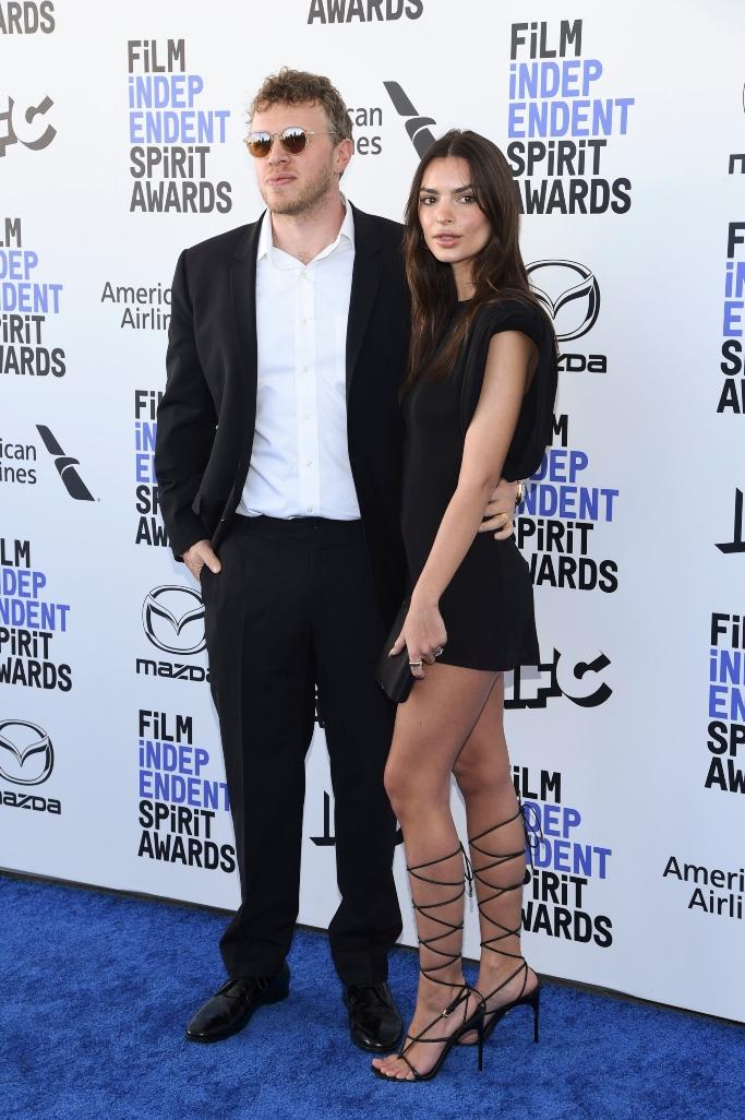 Sebastian Bear-McClard, Emily Ratajkowski, Independent Spirit Awards