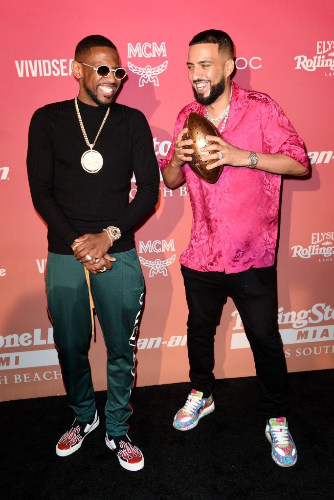 Rolling Stone Super Bowl LIV Party, Fabolous and french montana,