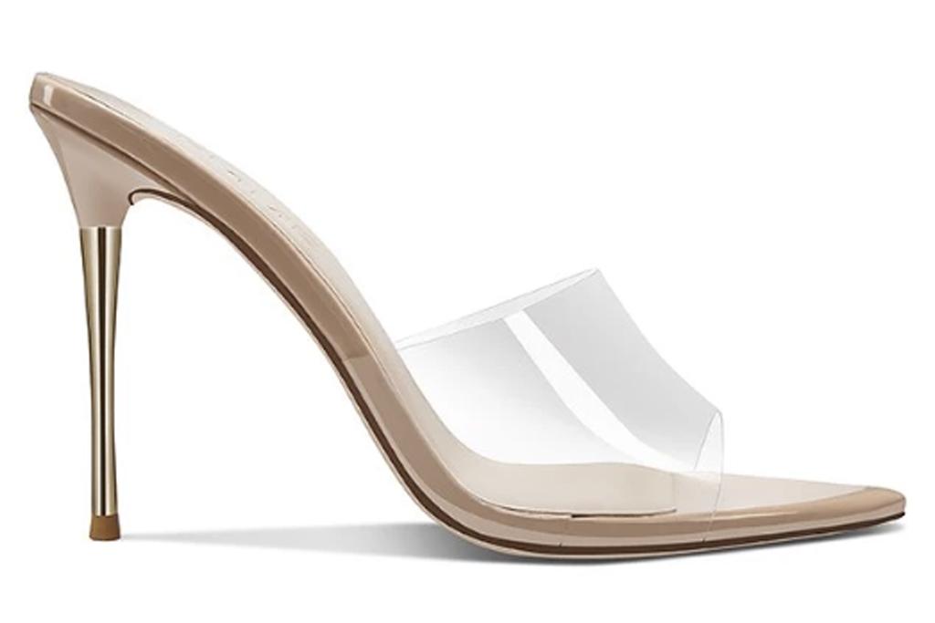 Femme Shoes, pvc, steel, mules