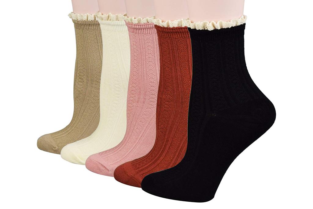 fitu ruffle socks