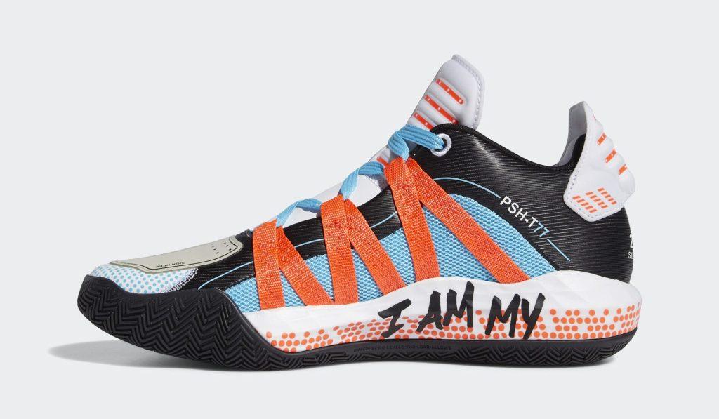 Pusha T x Adidas Dame 6