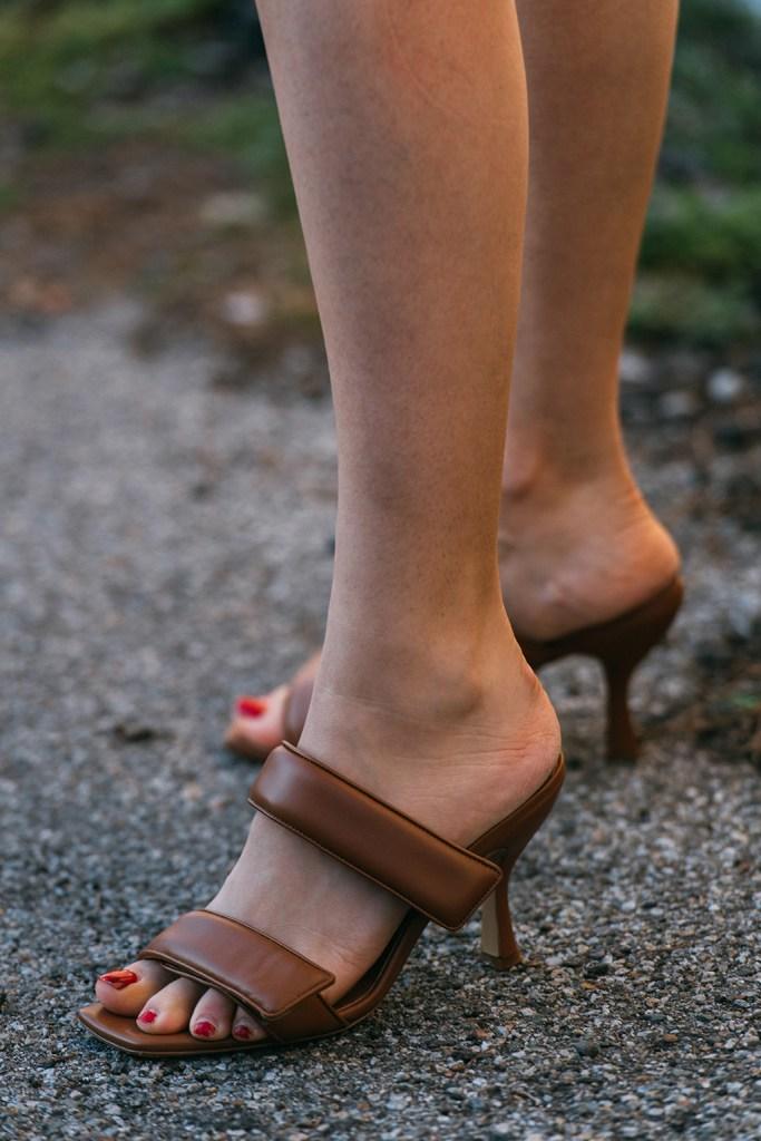 Gia Couture x Pernille Teisbaek, sandals, mfw, street style, fall 20