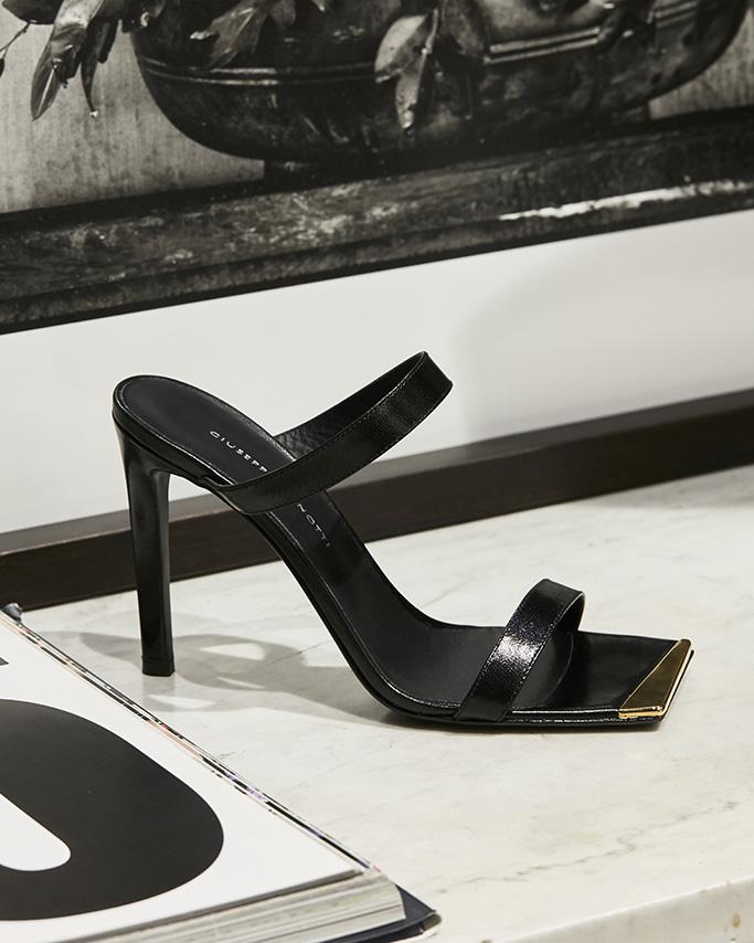 Giuseppe Zanotti , sandals, fall, square toes