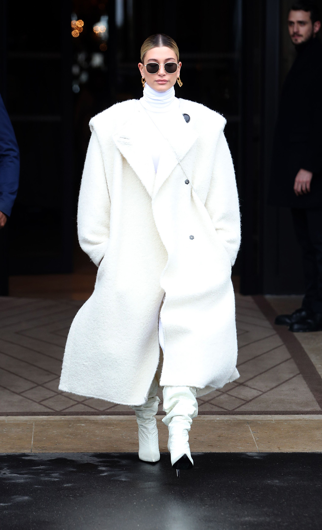 Hailey BieberCelebrities out and about, Fall Winter 2020, Paris Fashion Week, France - 27 Feb 2020