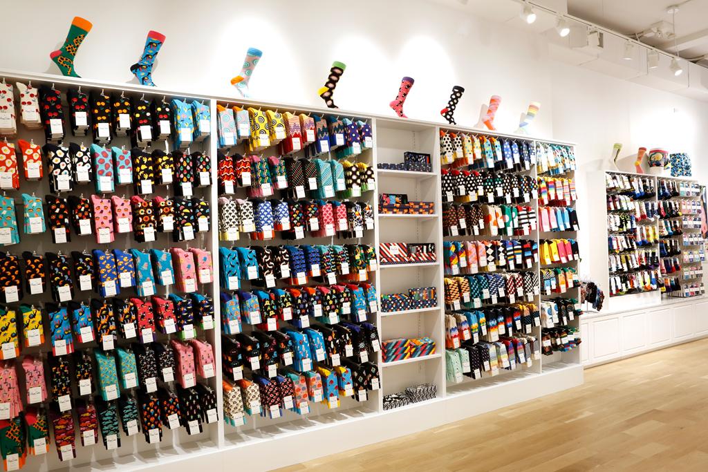 happy socks, store, union square, nyc, new york, socks