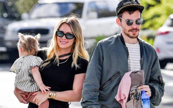 Hilary Duff, Matthew Koma and Banks Violet BairHilary Duff and Matthew Koma out and about, Los Angeles, USA - 21 Feb 2020