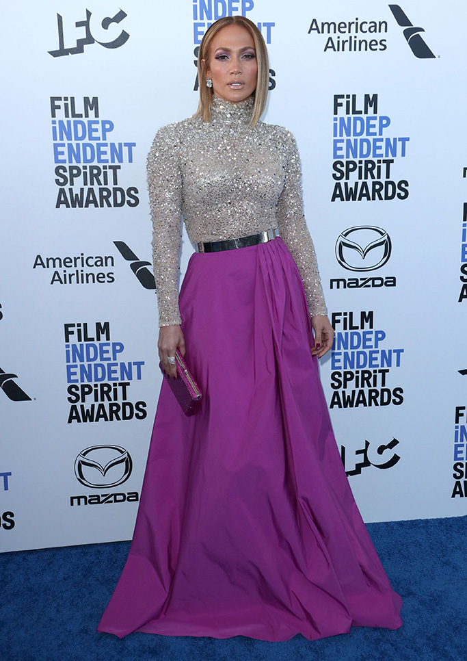 Jennifer Lopez35th Annual Film Independent Spirit Awards, Arrivals, Los Angeles, USA - 08 Feb 2020