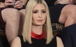 Ivanka Trump, sotu, celebrity style, state