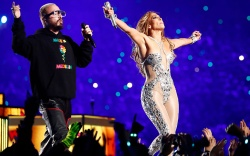J Balvin Jennifer Lopez Super Bowl