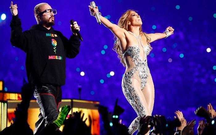 J Balvin Jennifer Lopez Super Bowl 54 Halftime Show