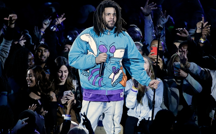 J. Cole 2019 NBA All-Star game