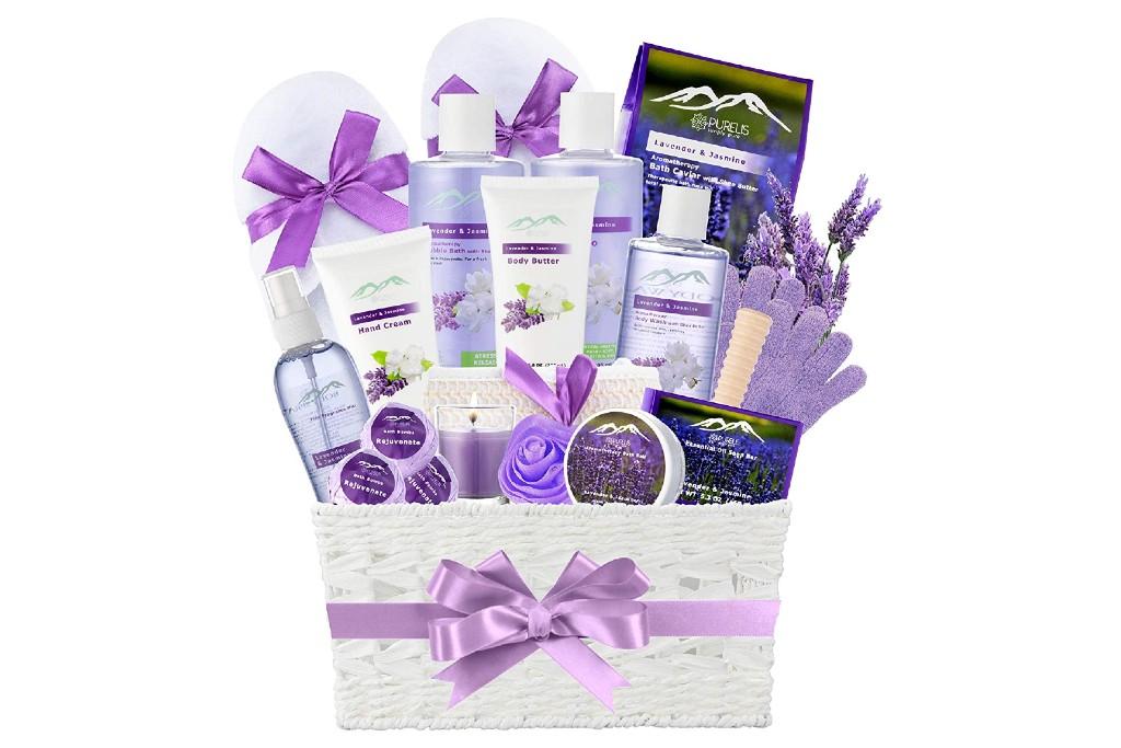 Jasmine Lavender Bath Gift Basket