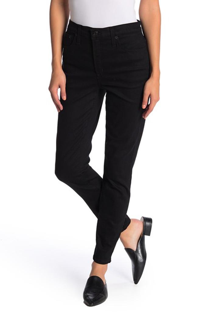 J Crew, black skinny jeans,