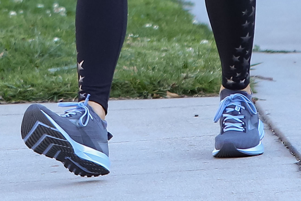 Brooks Levitate 3, jennifer garner, running sneakers, los angeles, calif