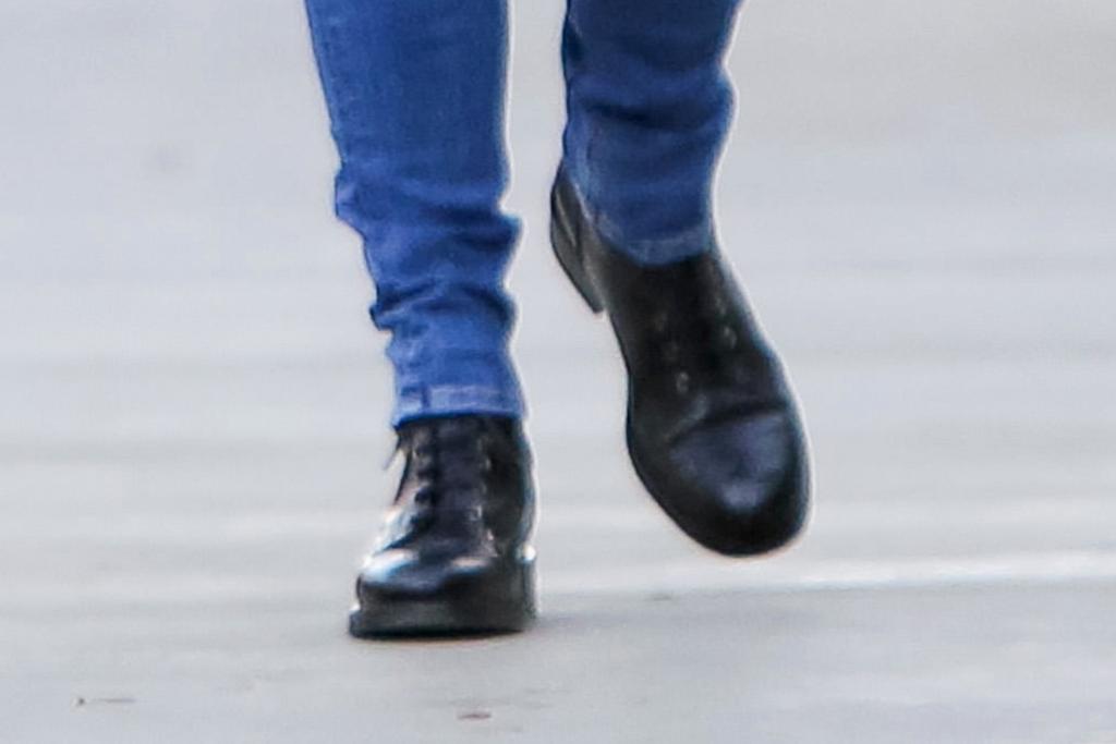 Jennifer Garner, black boots, skinny jeans, los angeles, celebrity style, street style