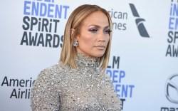 Jennifer Lopez arrives at the 35th