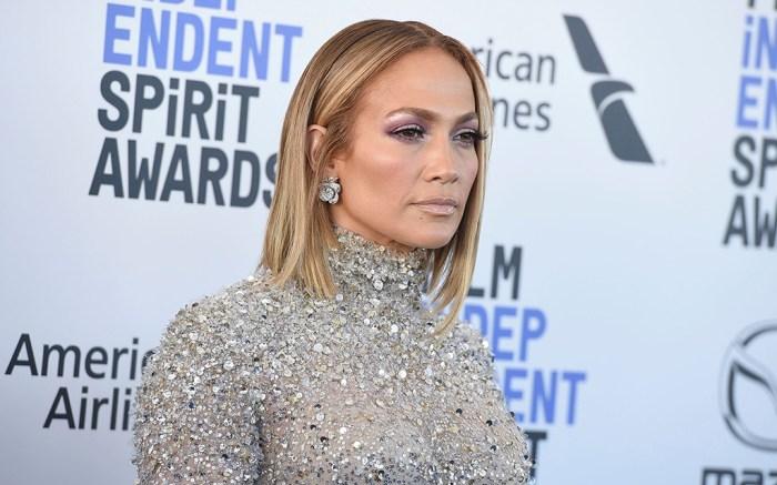 Jennifer Lopez arrives at the 35th Film Independent Spirit Awards, in Santa Monica, Calif2020 Film Independent Spirit Awards - Arrivals, Santa Monica, USA - 08 Feb 2020
