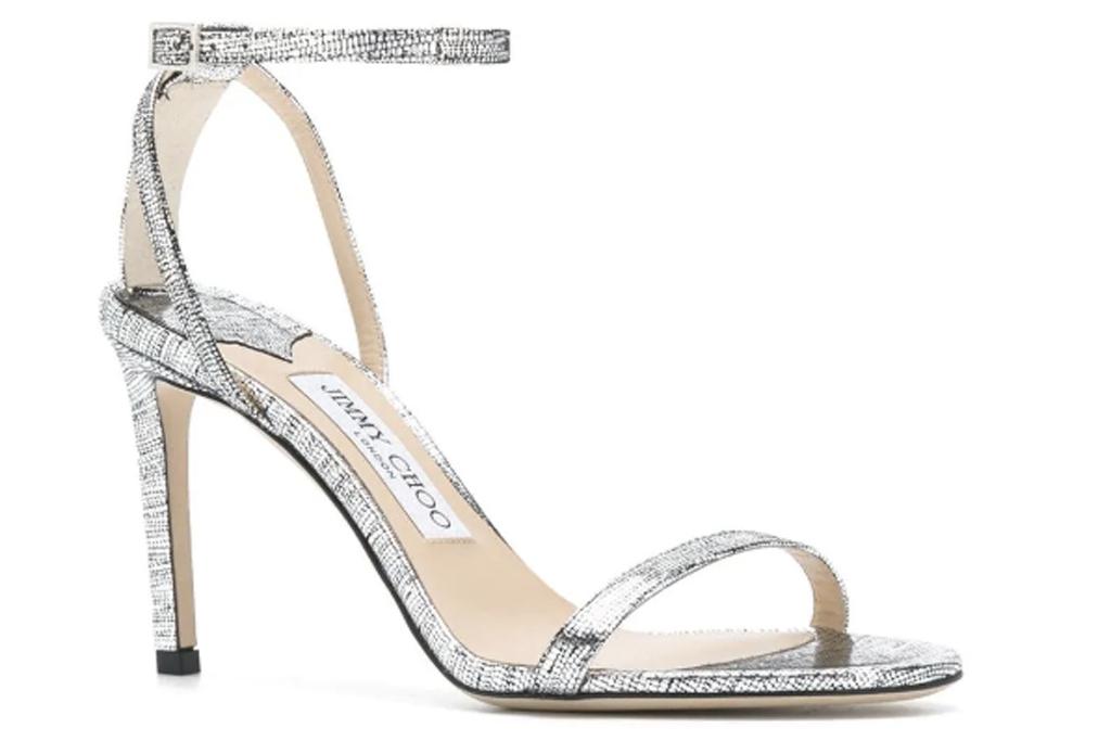 Jimmy Choo, silver sandals