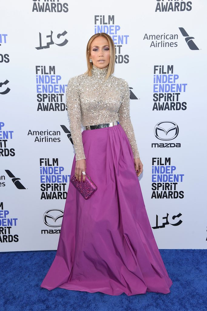 Jennifer Lopez 35th Annual Film Independent Spirit Awards, Arrivals, Los Angeles, USA - 08 Feb 2020