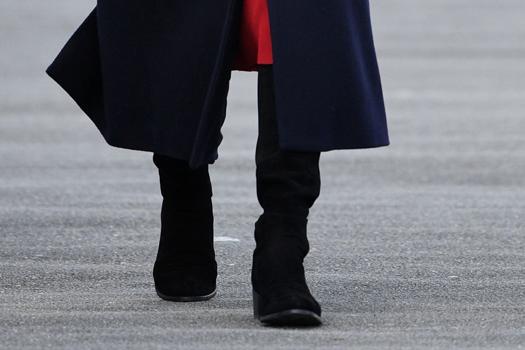 Kate Middleton, stuart weitzman boots, celebrity style, royal fashion, shoe detail