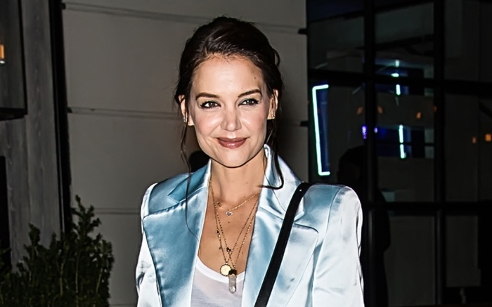 Katie Holmes is seen arriving to Flaunt And Zadig & Voltaire honoring Katie Holmes in celebration of The Home Issue at The Butterfly at Sixty Soho in New YorkPictured: Katie HolmesRef: SPL5147321 080220 NON-EXCLUSIVEPicture by: SplashNews.comSplash News and PicturesLos Angeles: 310-821-2666New York: 212-619-2666London: +44 (0)20 7644 7656Berlin: +49 175 3764 166photodesk@splashnews.comWorld Rights