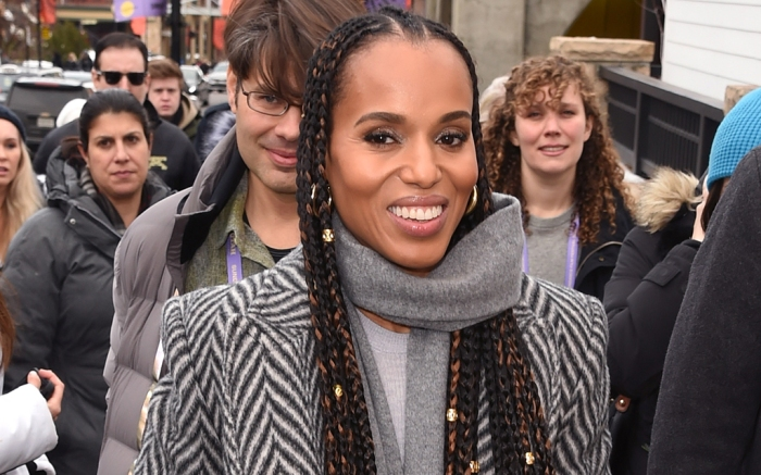 Kerry Washington, celebrity style, sorel, sundance