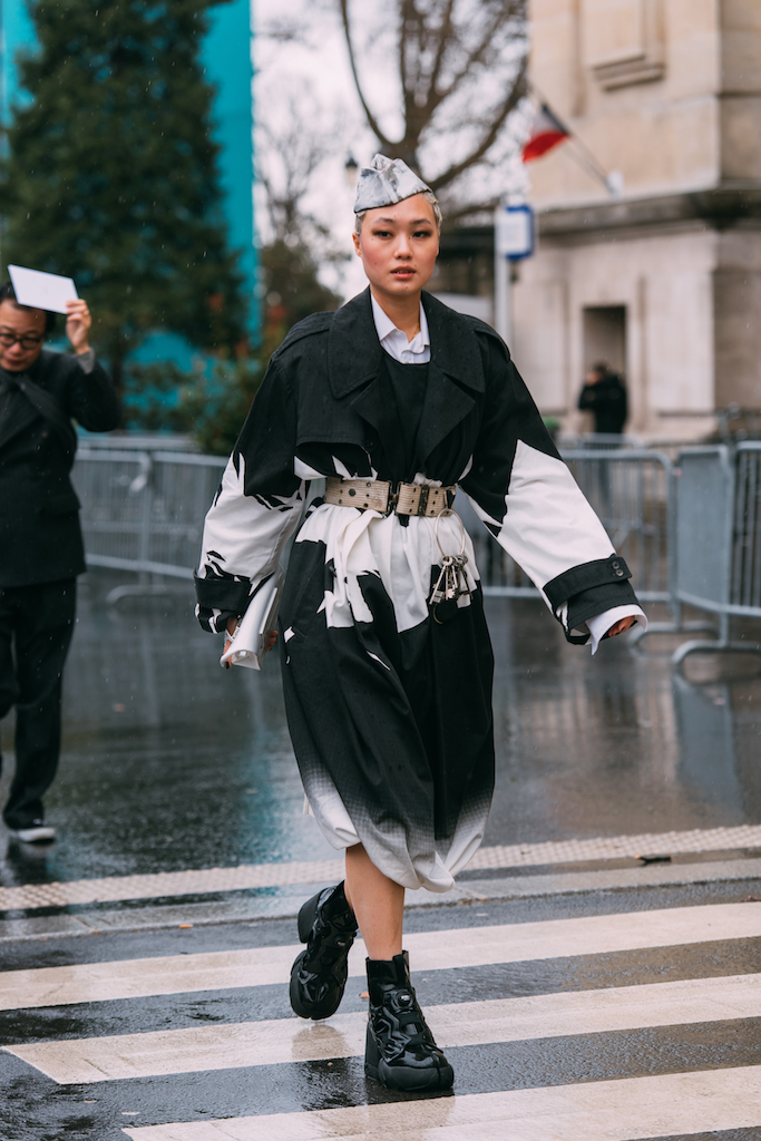 Kicki-Yang-Zhang-in-Reebok-x-Maison-Margiela
