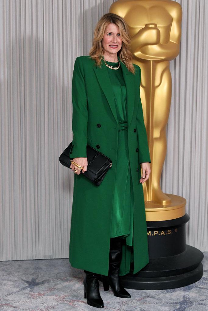LauraDern, London, Oscar Nominees, Marriage Story