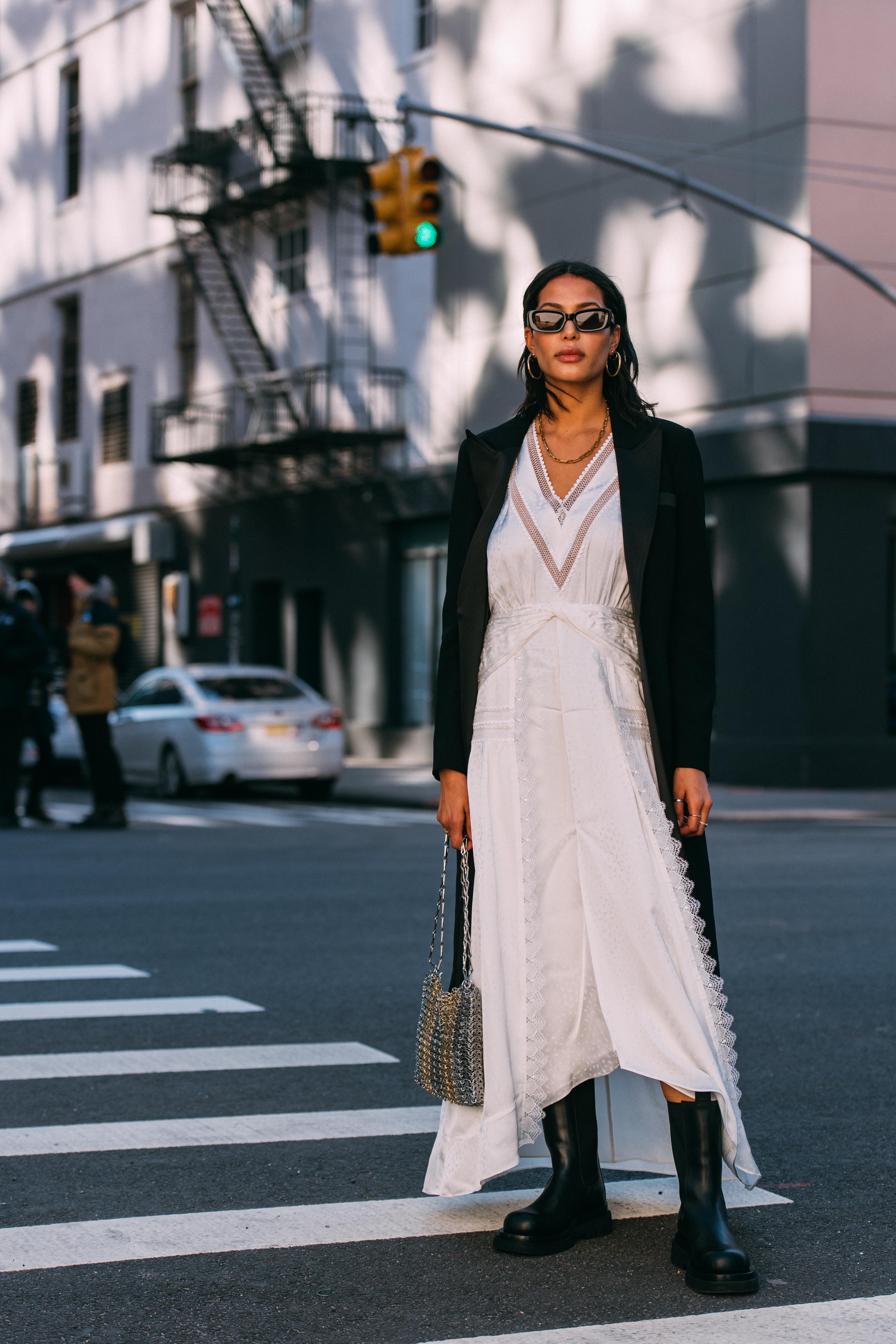 Lauren Johnson New York Fashion Week Street Style